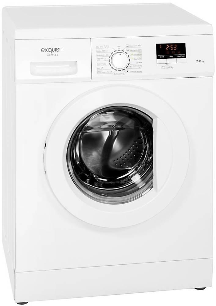 exquisit wa 7114 7 waschmaschine im test 02 2019. Black Bedroom Furniture Sets. Home Design Ideas