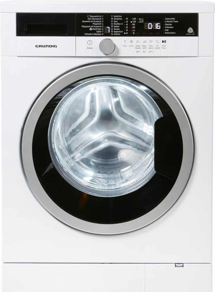 grundig gww 384311 waschmaschine im test 2018. Black Bedroom Furniture Sets. Home Design Ideas