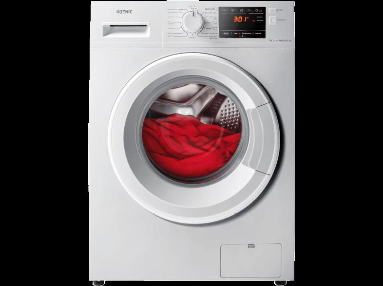 koenic kwm 71412 a3 waschmaschine im test 07 2018. Black Bedroom Furniture Sets. Home Design Ideas