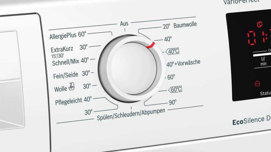 Bosch wat28321 Bedienelement