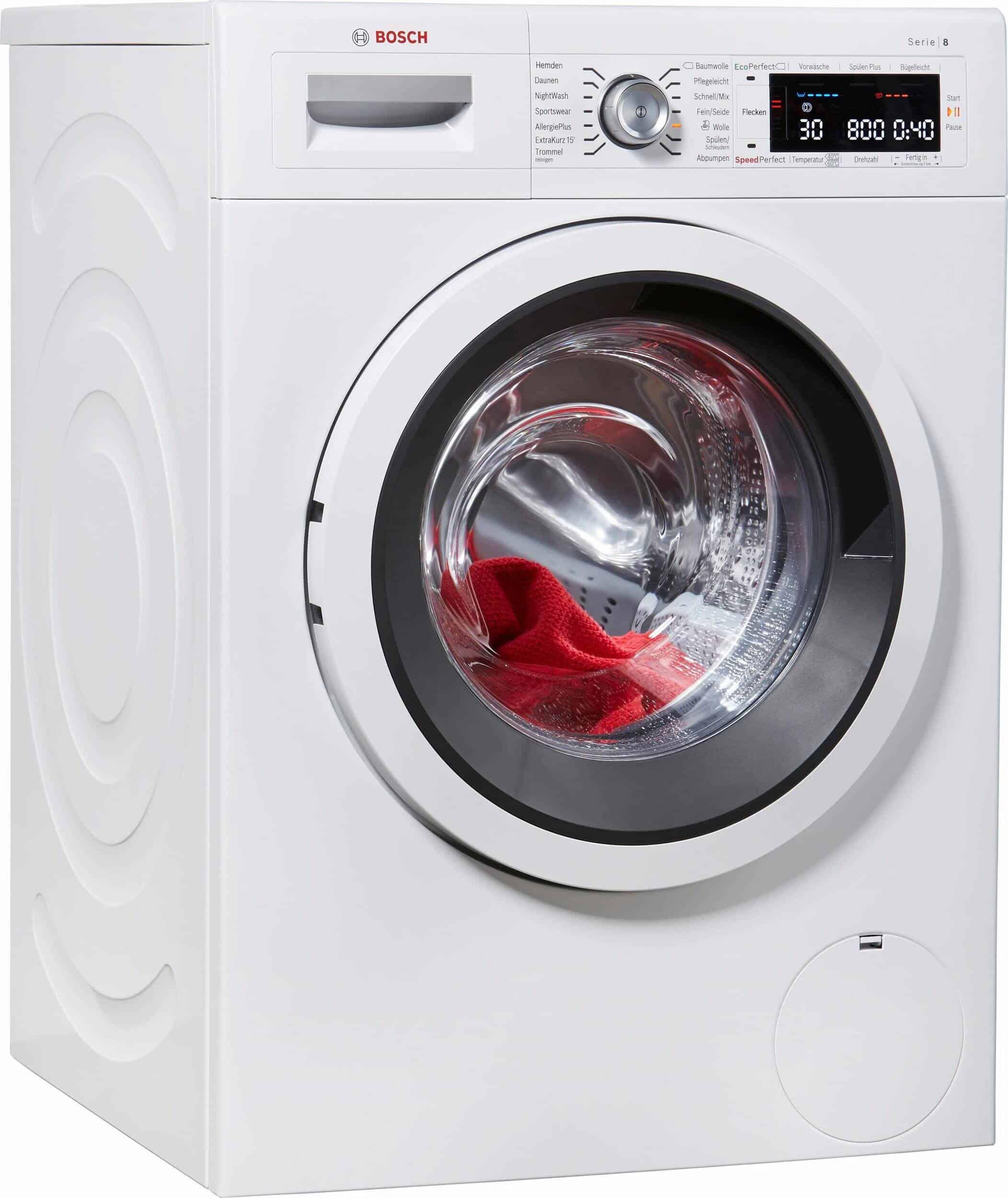 Bosch Waw285v0 Waschmaschine Im Test 022019