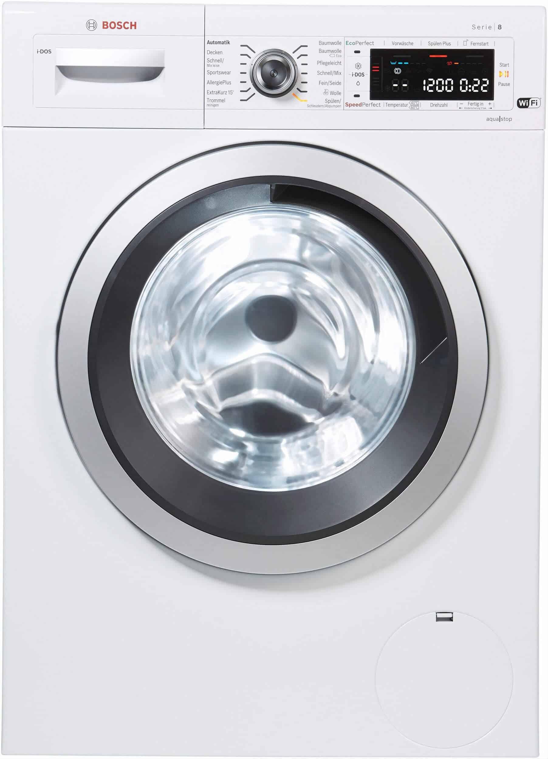 bosch wawh8640 waschmaschine im test 02 2019. Black Bedroom Furniture Sets. Home Design Ideas
