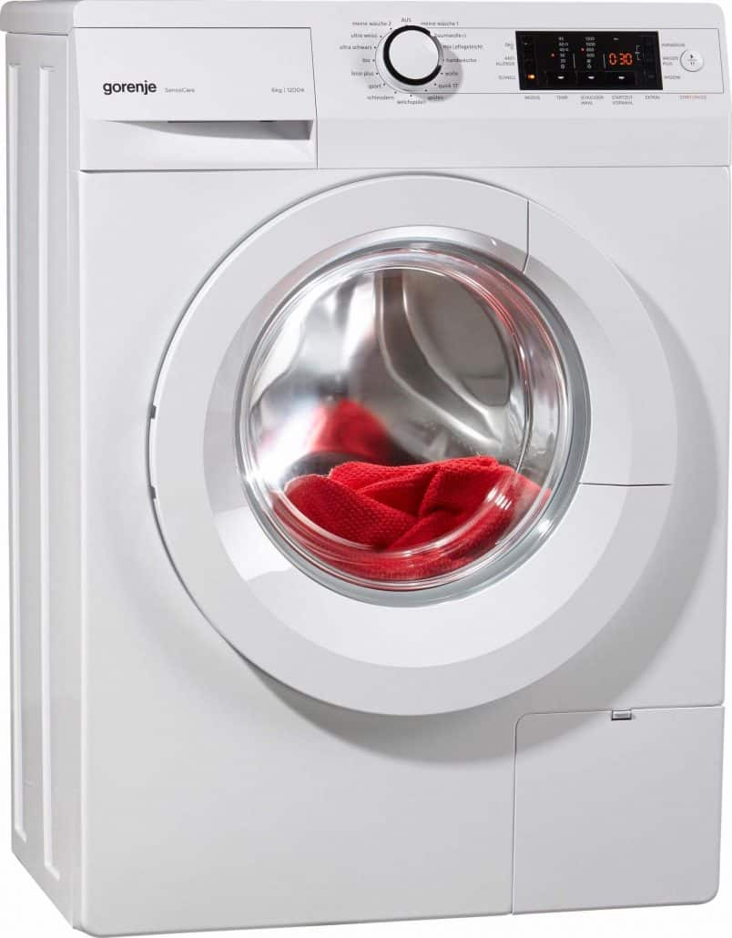 gorenje wave p 62s3 p waschmaschine im test 07 2018. Black Bedroom Furniture Sets. Home Design Ideas