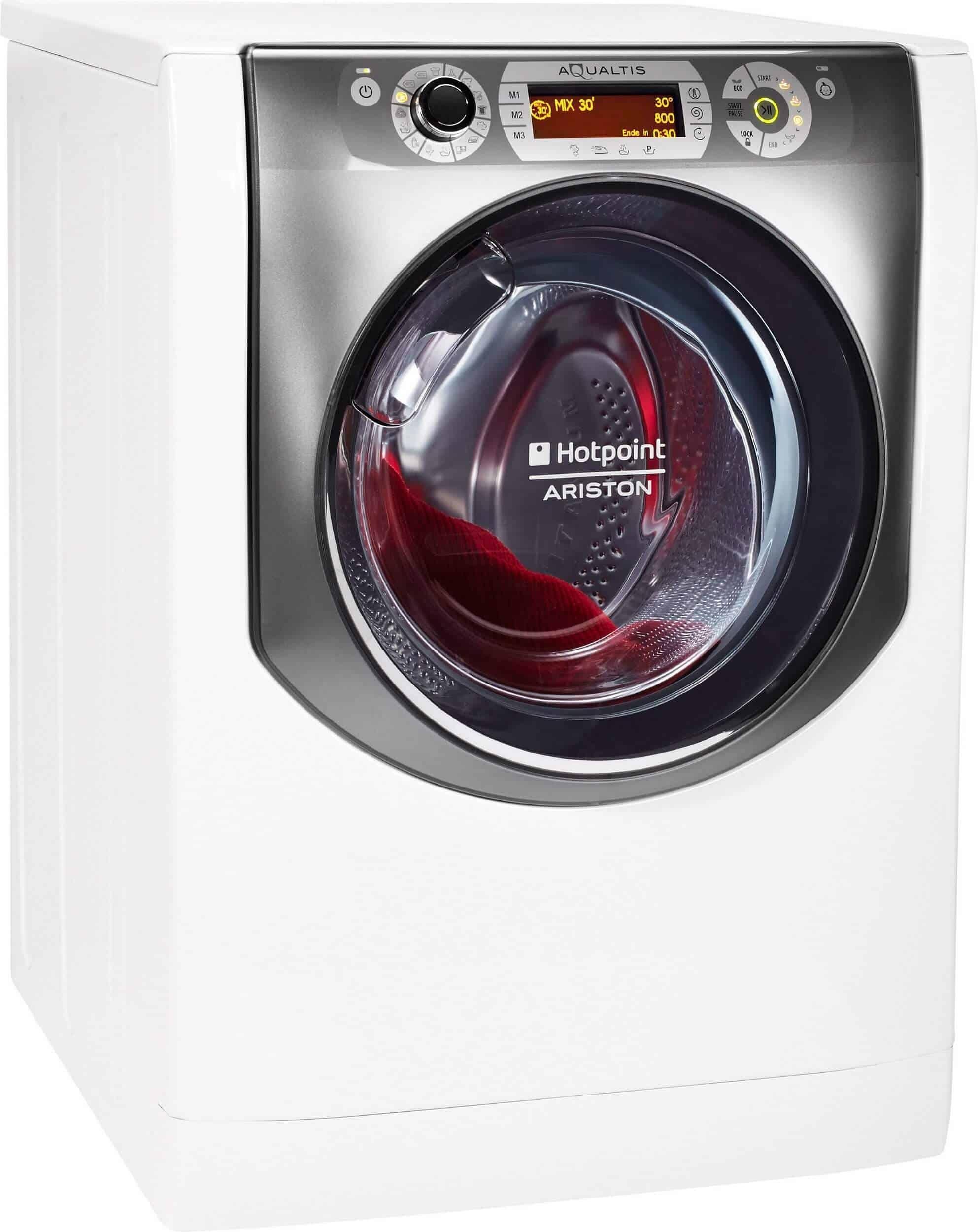 hotpoint aq113da 697 eu a waschmaschine im test 2018. Black Bedroom Furniture Sets. Home Design Ideas