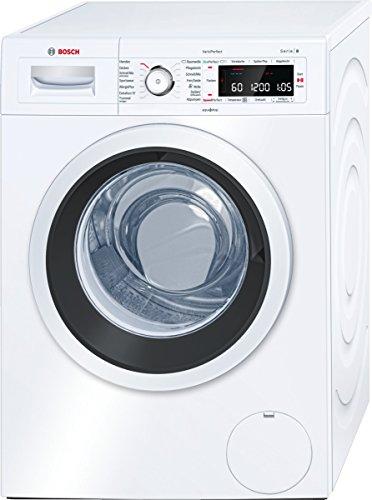 Bosch WAW28500 Serie 8 Waschmaschine FL / A+++ / 152 kWh/Jahr / 1400 UpM / 9 kg / Weiß / 11200 L/Jahr / Activ Water Plus