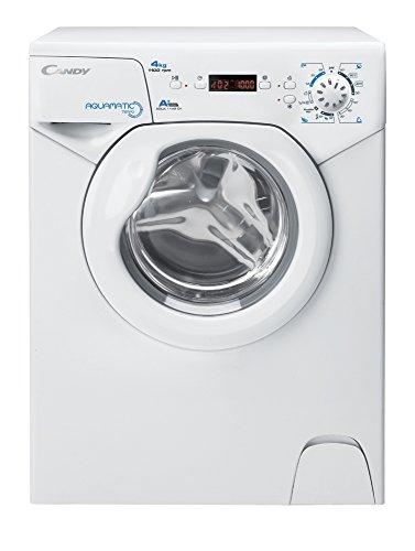 Candy Aqua 1142 D1 Waschmaschine FL / A+ / 141 kWh/Jahr / 1100 UpM / 4 kg / 6400 L/Jahr / nur 44 cm tief /nur 69,5 cm hoch / weiss