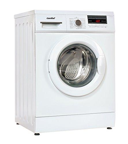 Comfee WM 6014.1 A+++ Waschmaschine FL/153 kWh/Jahr/1400 UpM/6 kg/9000 L/Jahr/ECO Programm/Sportbekleidung/weiß [Energieklasse A+++]