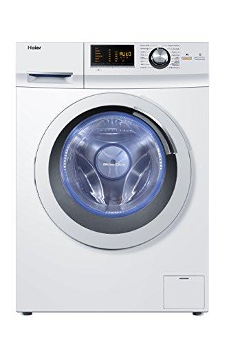 Haier HW80-B14266 Waschmaschine FL / A+++ / 108 kWh/Jahr / 1400 UpM / 8 kg / Aqua Protect Schlauch und Bodenwanne / weiß