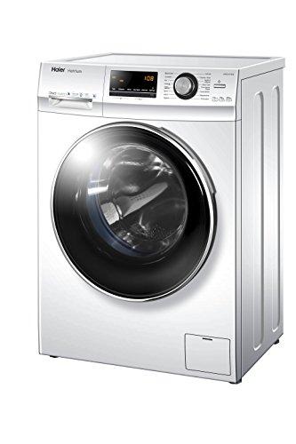 Haier HW80-B14636 Waschmaschine FL / A+++ / 97 kWh/Jahr / 1400 UpM / 8 kg / Vollwasserschutz: Aqua Protect Schlauch und Bodenwanne / weiß