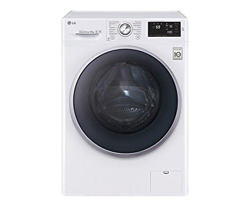 LG Electronics F 14U2 VDN1H Waschmaschine FL / A+++ / 152 kWh/Jahr / 1400 UpM / 9 kg / 9500 L/Jahr / weiß / 14 vorprogrammierte Programme / Smart Diagnosis