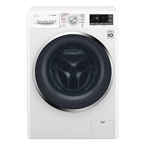 LG Electronics F 14WM 10TT2 Waschmaschine Frontlader / A+++ / 1400UpM / TurboWash / True Steam / weiß