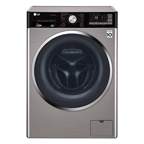 LG Electronics F 14WM 10TT6 Waschmaschine Frontlader / A+++ / 1400UpM / TurboWash / True Steam / Edelstahl
