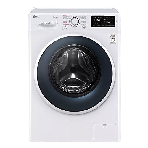 LG Electronics F 14WM 8TS1 Waschmaschine Frontlader / A+++ / 132 kWh/Jahr / 1400UpM / 8 kg / weiß / Spa Steam / Smart Diagnosis