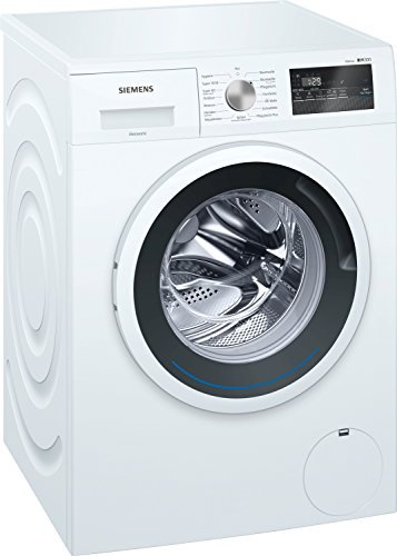 Siemens WM14N121 iQ300 Waschmaschine Frontlader / 7kg / A+++ / 1400 UpM/iSensoric / iQdrive Motor/WaterPerfect / Nachlegefunktion/Spezialprogramm für Sport- und Outdoor-Bekleidung/weiß