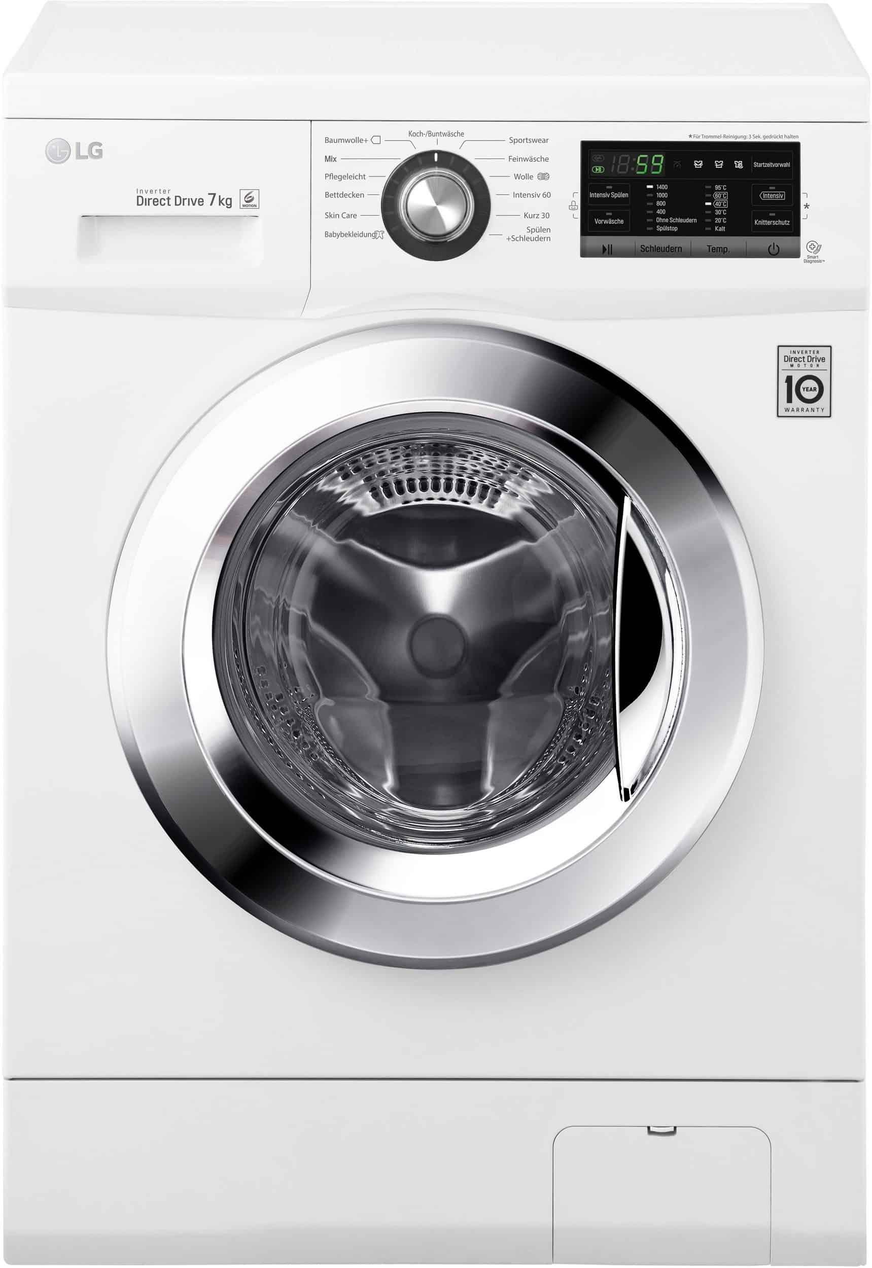die lg f1496qd3h waschmaschine im test februar 2019. Black Bedroom Furniture Sets. Home Design Ideas