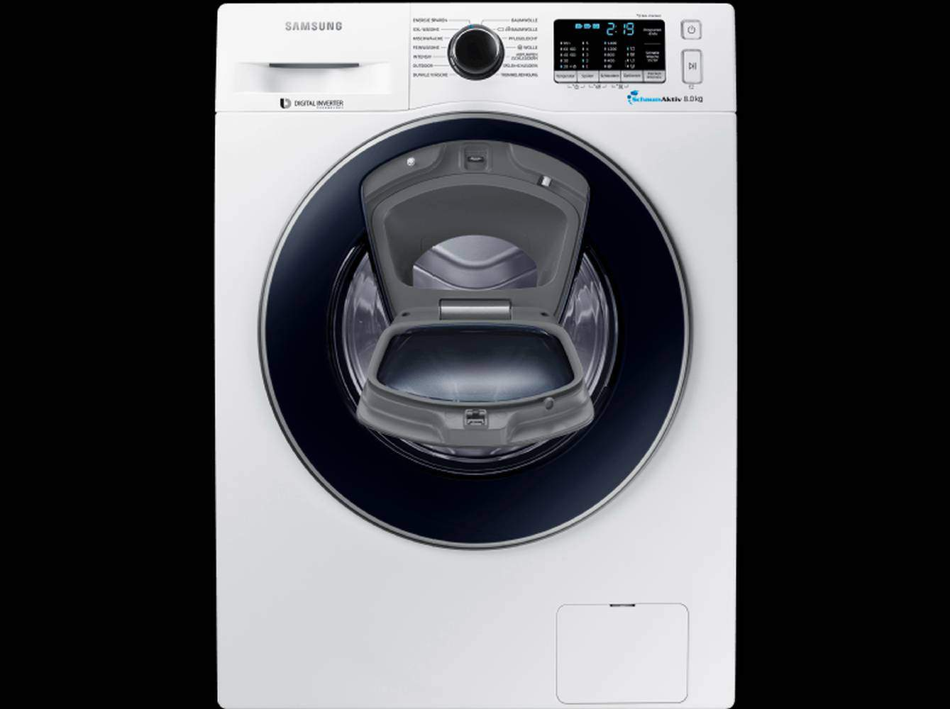 Samsung ww 8 ek 5400 uw eg waschmaschine im test 07 2018