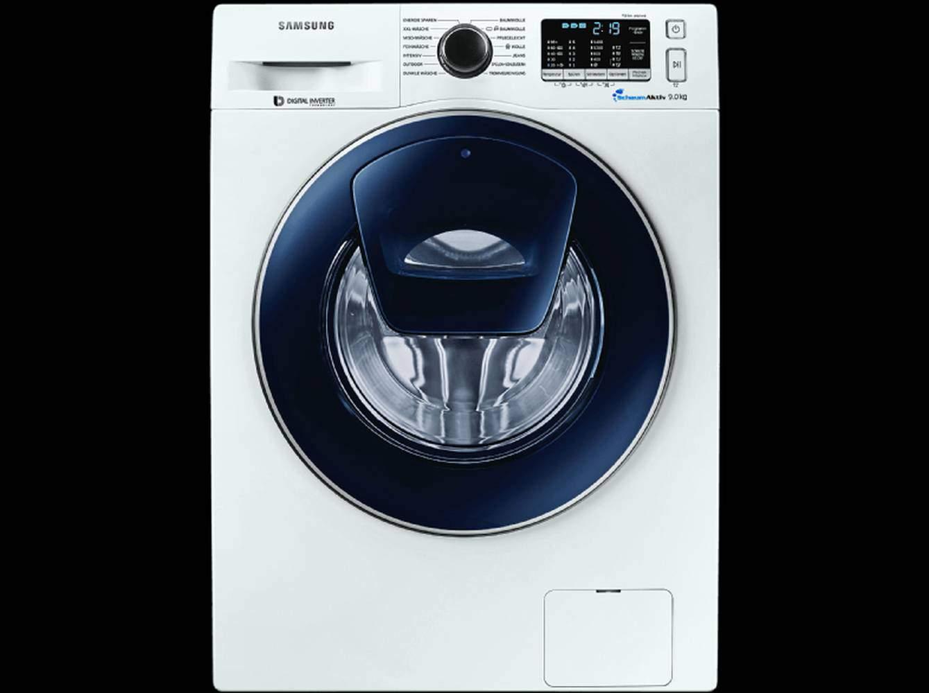 Samsung ww k uw waschmaschine im test