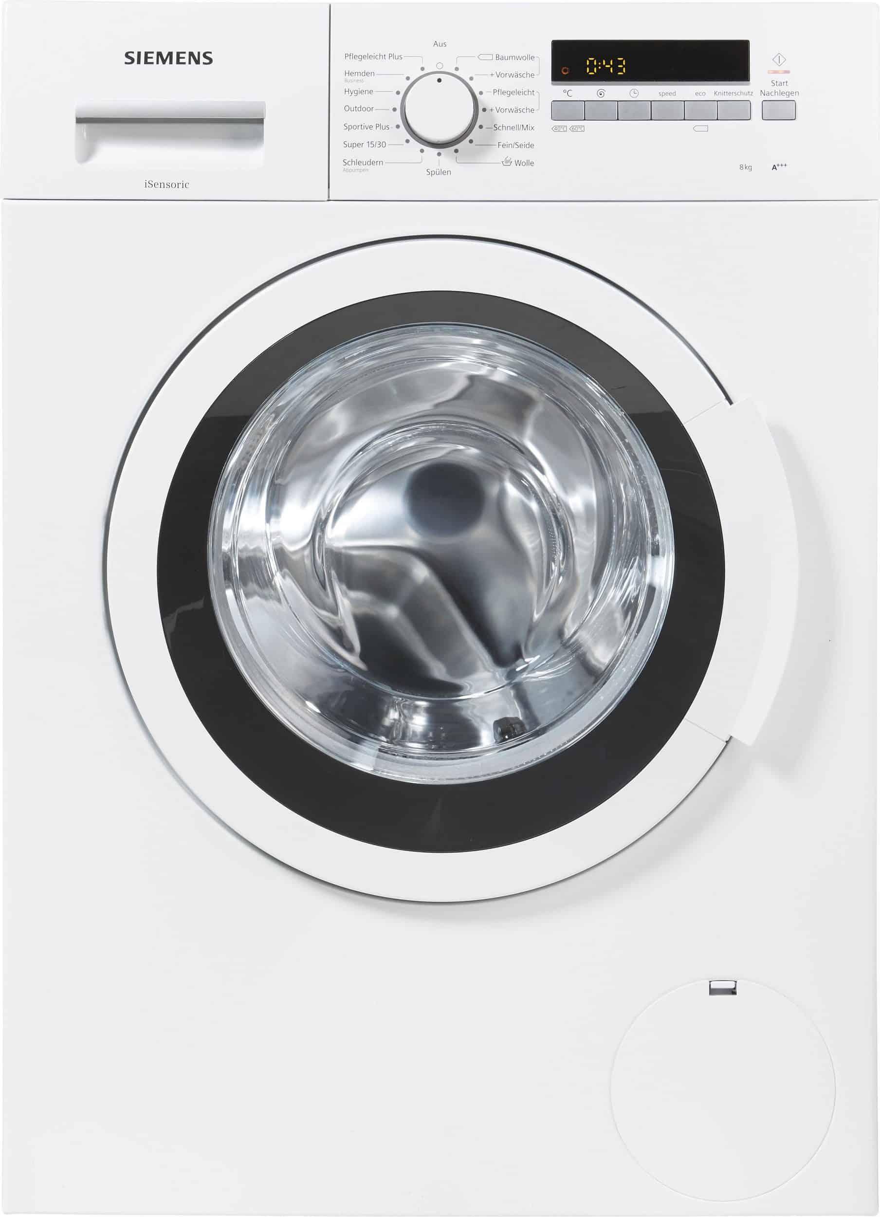 Siemens Wm14k2eco Waschmaschine Im Test Februar 2019