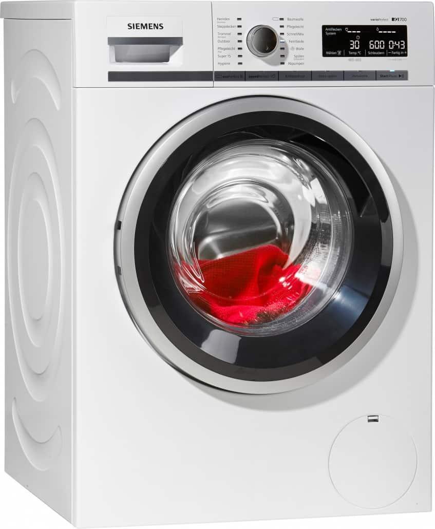 siemens wm14w540 waschmaschine im test 02 2019. Black Bedroom Furniture Sets. Home Design Ideas
