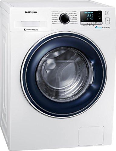 Samsung WW81J5436FW/EG Waschmaschine Frontlader/A+++/1400 UpM/kg/SchaumAktiv-Technologie/FleckenIntensiv/weiß