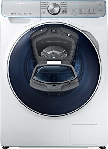 Samsung WW8800 WW10M86BQOA/EG QuickDrive Waschmaschine Frontlader/A+++/1400 UpM/10 kg/Automatische Waschmitteldosierung/AddWash/SchaumAktiv-Technologie/FleckenIntensiv-Option/SmartControl 2.0