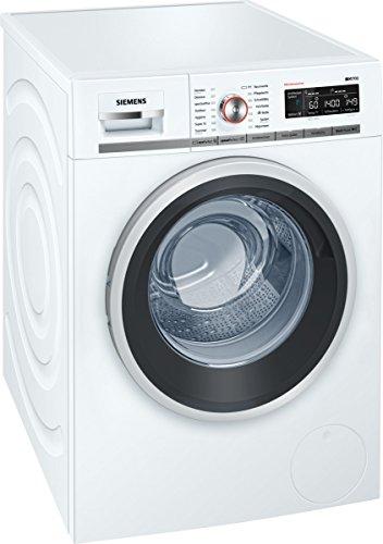 Siemens iQ700 WM14W5FCB iSensoric Premium-Waschmaschine/A+++/1400 UpM/9 kg/Weiß/SpeedPerfect/AquaStop/Antiflecken-System