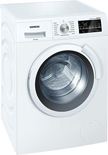 Siemens iQ500 WS12T440 Slim Line / 6,50 kg / A+++ / 119 kWh / 1.200 U/min / aquaStop mit lebenslanger / Hygiene Programm / Outdoor Programm /