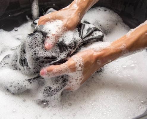Putzlappen waschen