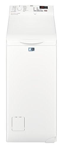 AEG L6TB41270 Waschmaschine/Energieklasse A+++ (175 kWh pro Jahr) / 7 kg/Toplader Waschautomat/ProSense Mengenautomatik/Startzeitvorwahl / Weiß