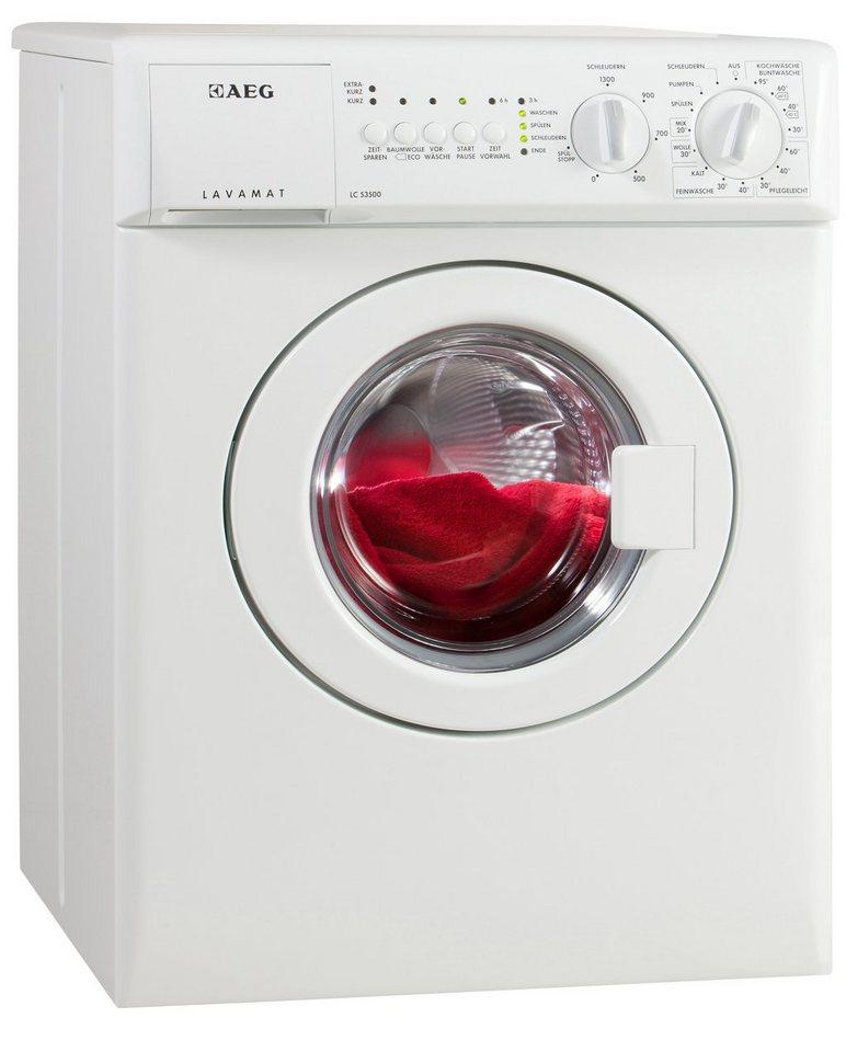 AEG Waschmaschine LAVAMAT LC53500, 3 kg, 1300 U/Min