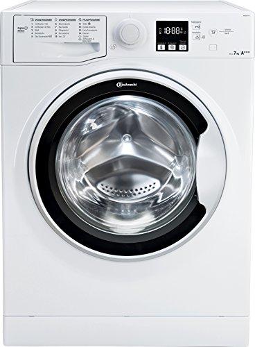 Bauknecht WA Soft 7F41 Waschmaschine Frontlader/A+++ -10%/1400 UpM/langlebiger Motor/Nachlegefunktion/Wasserschutz/weiß