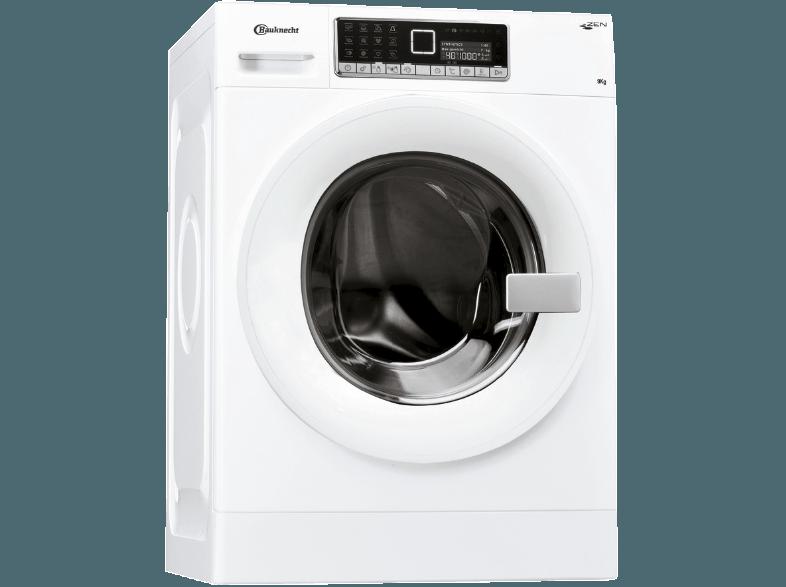 BAUKNECHT WM Move 934 ZEN CD Waschmaschine (9 kg, 1400 null, A+++)