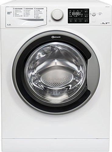Bauknecht WM Sense 8G42PS Waschmaschine Frontlader/A+++ -20%/1400 UpM/langlebiger Motor/Nachlegefunktion/Wasserschutz/weiß