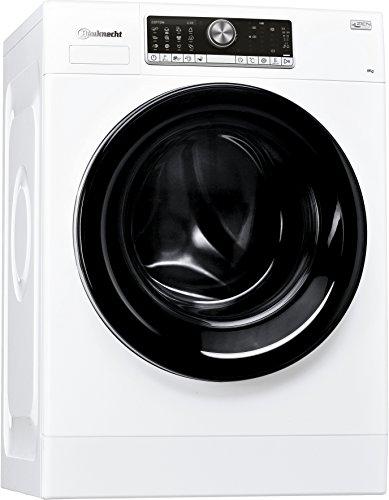 Bauknecht WM Style 824 ZEN Waschmaschine Frontlader/A+++ B / 1400 UpM / 8 kg/weiß / sehr leise mit 48 dB/Mehrsprachiges Display