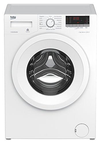 Beko WMB 71643 PTN Waschmaschine Frontlader/A+++/1600pM/7kg/weiß/Super Express 14/Mengenautomatik/Watersafe/ProSmart Inverter Motor/Pet Hair Removal