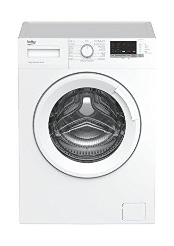 Beko WML 61433 NP Waschmaschine Frontlader / 6kg / A+++ / 1400 UpM/Mengenautomatik / weiß/Startzeitvorwahl / 15 Programme/Pet Hair Removal/Schnell+ Funktion/Watersafe