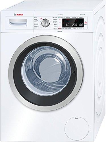 Bosch WAW28540 Serie 8 Waschmaschine Frontlader/A+++/137 kWh/Jahr/1400 UpM/8 kg/9900 L/Jahr/Weiß/Selbstreinigungsschublade