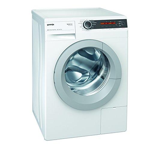 Gorenje W8665I/I Waschmaschine FL/A+++/A/8 kg/1600 UpM/Weiß/Totaler Aqua stop/Senso Care-Waschsysteme/LED-Trommel-Innenbeleuchtung