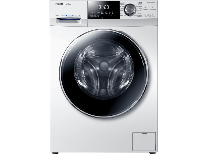 HAIER HW100-BD14756 Waschmaschine (10 kg, 1400 null, A+++)