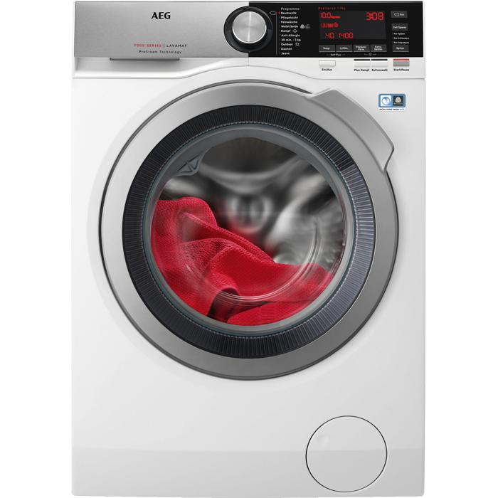 L7FE86404 Waschmaschine 10kg 1400 U/min A+++ Frontlader Aqua Control System (Weiß) (Versandkostenfrei)