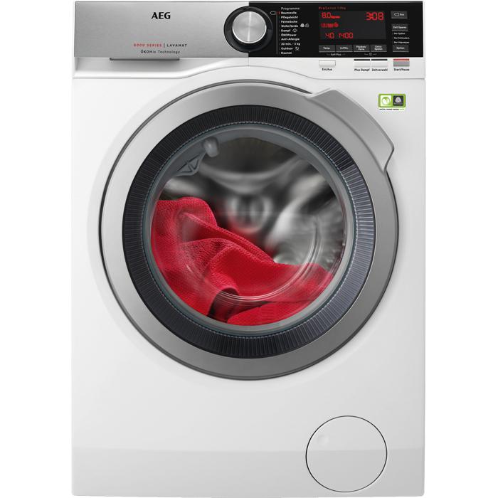 L8FE86684 Waschmaschine 8kg 1600 U/min A+++ Frontlader Aqua Control System (Weiß) (Versandkostenfrei)