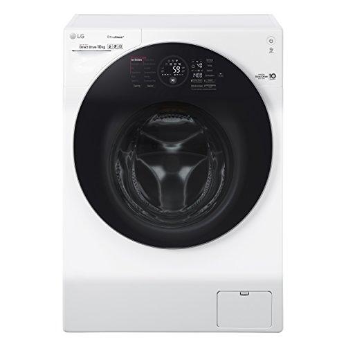 LG Electronics F 14WM 10GT Waschmaschine Frontlader/A+++/140 kWh/Jahr/1400 UpM/10 kg/weiß/Intelligente Beladungserkennung/Steam Wash Technologie