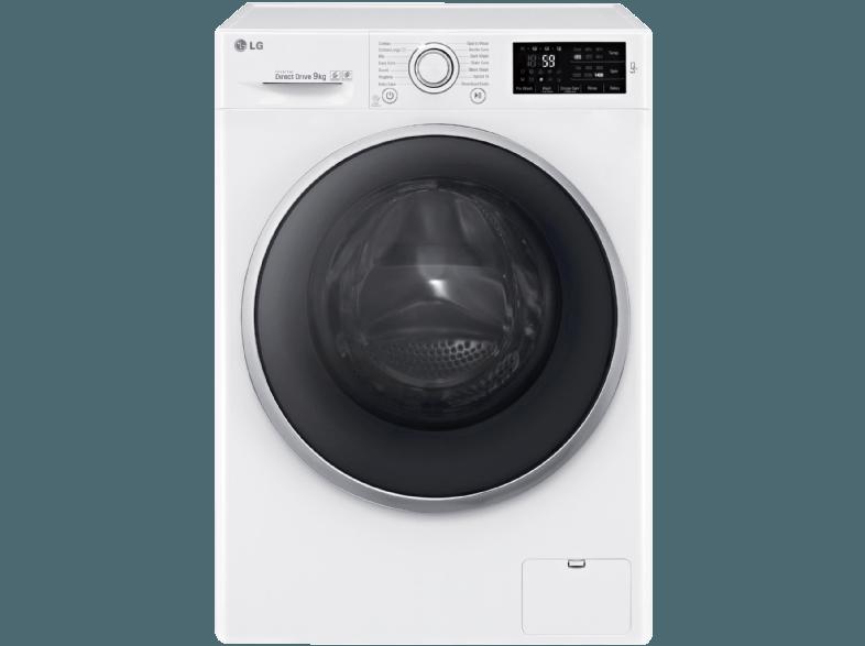 LG F 14 U2 VDN1H Waschmaschine (9 kg, 1400 U/Min, A+++)