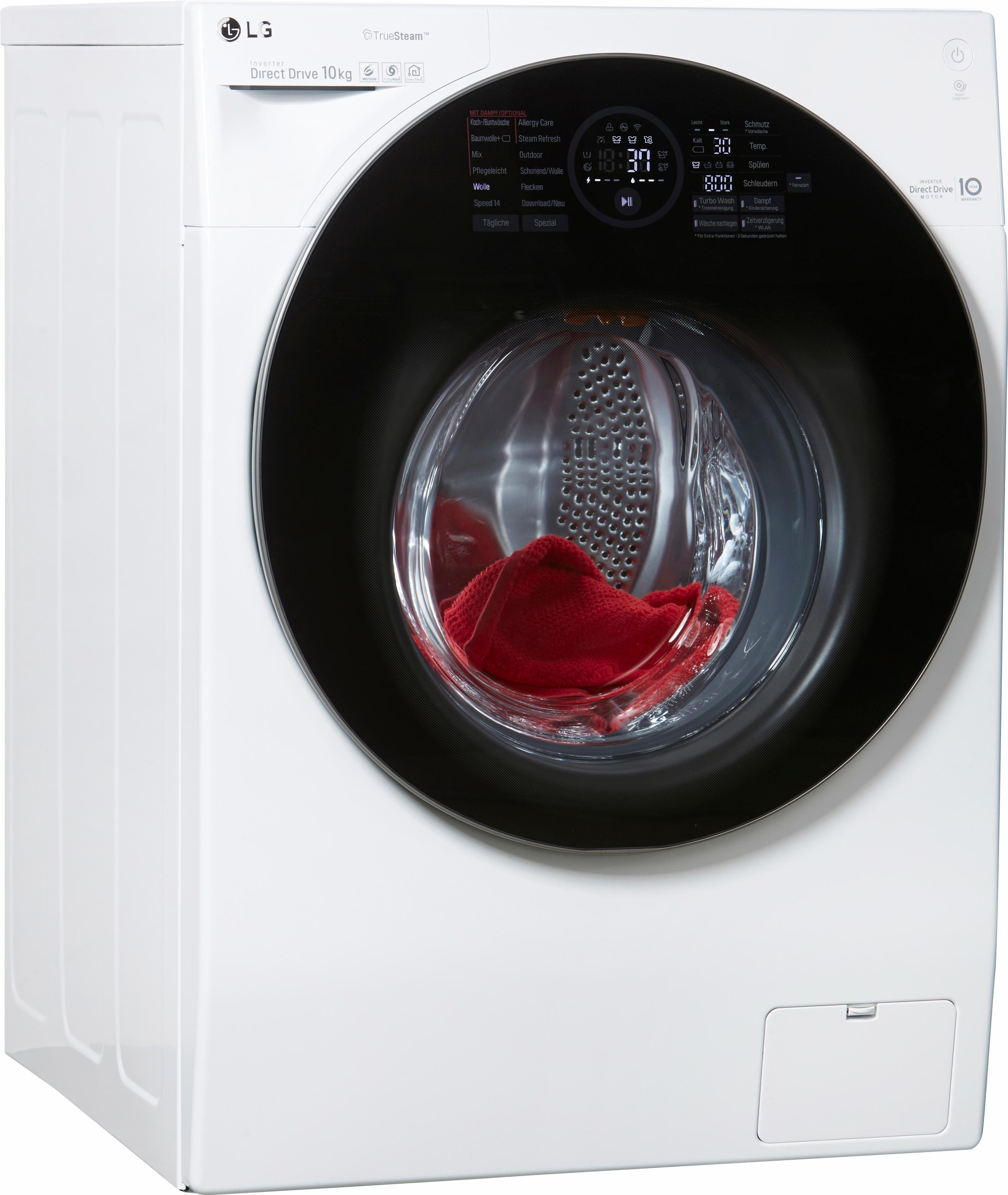 LG Waschmaschine F 14WM 10GT, 10 kg, 1400 U/Min