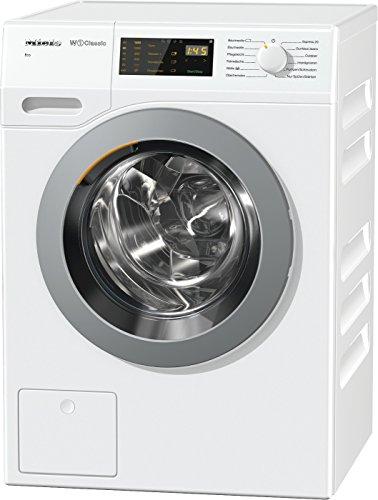 Miele WDB 005 WCS Waschmaschine mit höchster Energieeffizienzklasse A+++ (175 kWh/Jahr)/Waschmaschine 7 kg für schonendes Waschen/Miele Waschmaschine mit einfacher Bedienung per Fingertipp/weiß