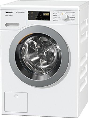 Miele WDD 021 WPS Waschmaschine Frontlader/A+++/157 kWh/Jahr/1400 UpM/8 kg Schontrommel/Startvorwahl und Restzeitanzeige/Einfache Bedienung per Fingertipp mit DirectSensor