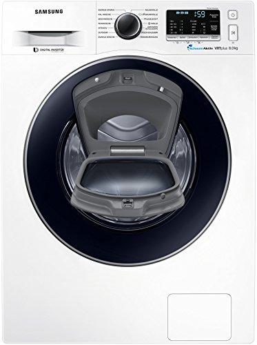 Samsung SLIM WW5500 WW80K52A0VW/EG AddWash Waschmaschine/A+++ / 1200 U/min / 8 kg/ECO Trommelreinigung