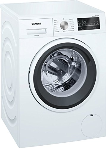 Siemens WM14T421 iQ500 Waschmaschine Frontlader/A+++ / 7kg / 1400 UpM/iQdrive / iSensoric/Nachlegefunktion / speedPerfect/Spezialprogramm für Sport- und Outdoor-Bekleidung/weiß