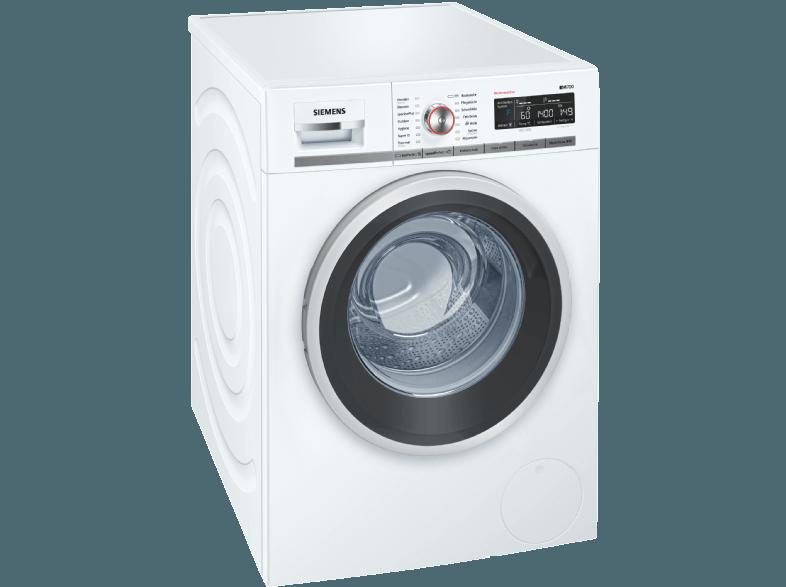 SIEMENS WM14W5FCB Waschmaschine (9 kg, 1361 null, A+++)