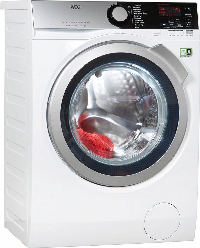 AEG Waschmaschine L8FE69OkoM, 9 kg, 1600 U/Min